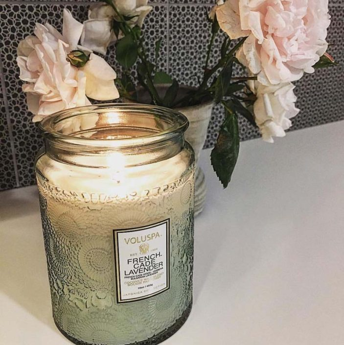 Valuspa Lavender scended candle